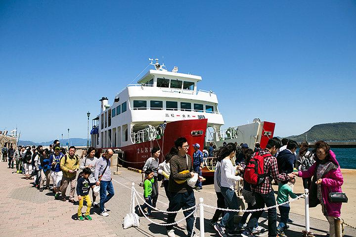 『瀬戸内国際芸術祭』開催風景 Photo:Shintaro Miyawaki