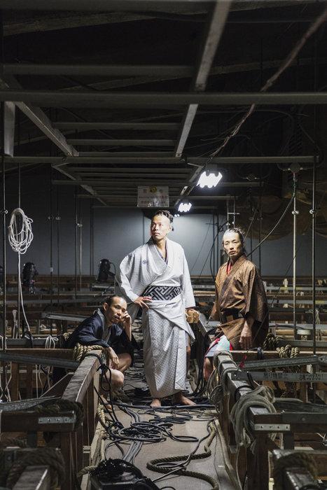 左から平原慎太郎、大植真太郎、森山未來(photo:matron)