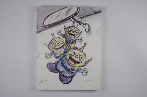 「ウォールキャンバスS エイリアン TOYSTORY」イメージビジュアル ©Disney/Pixar