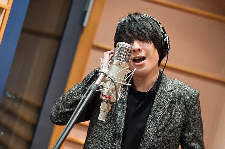 斎藤宏介(UNISON SQUARE GARDEN)レコーディング風景