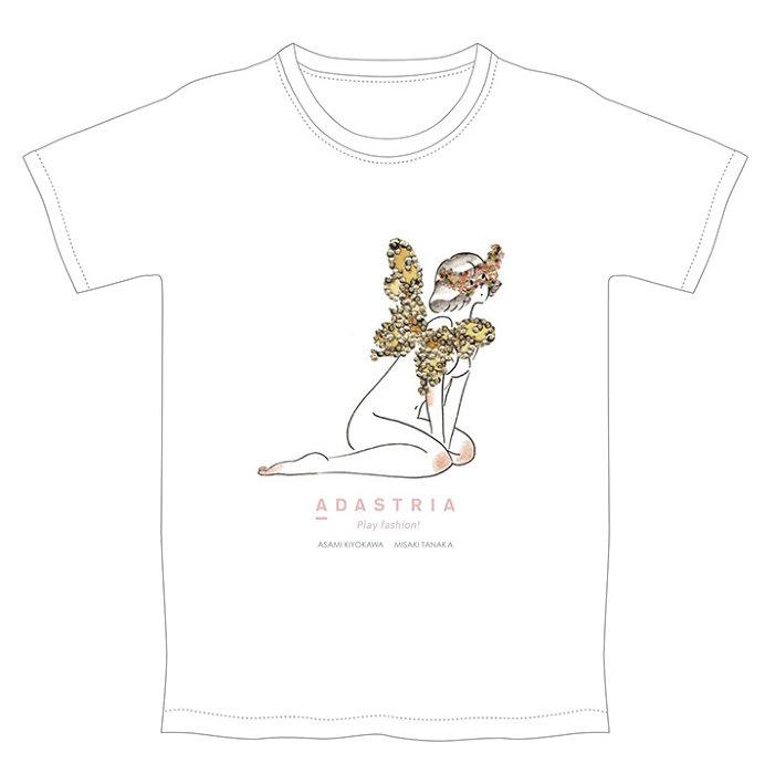 清川あさみ、たなかみさきコラボグッズイメージビジュアル
