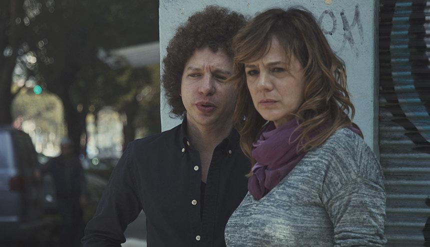『母という名の女』ミシェル・フランコ監督とエマ・スアレス ©Lucía Films S. de R.L de C.V. 2017