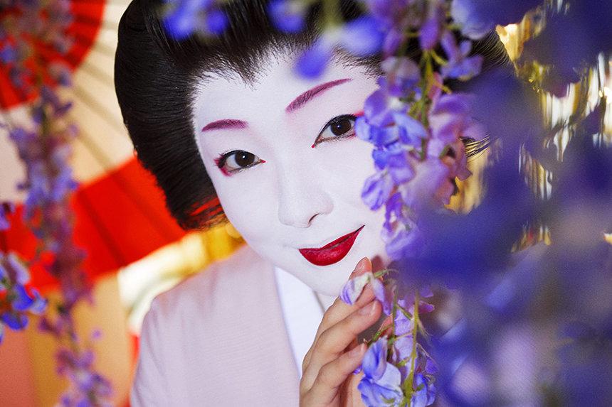 『蜷川実花写真集 trans-kyoto』より