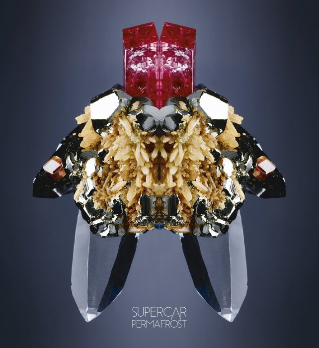 スーパーカー『SUPERCAR 20th Anniversary Best「PERMAFROST」』DISC1ジャケット