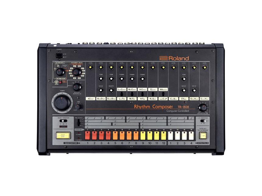 ローランド「TR-808」ビジュアル