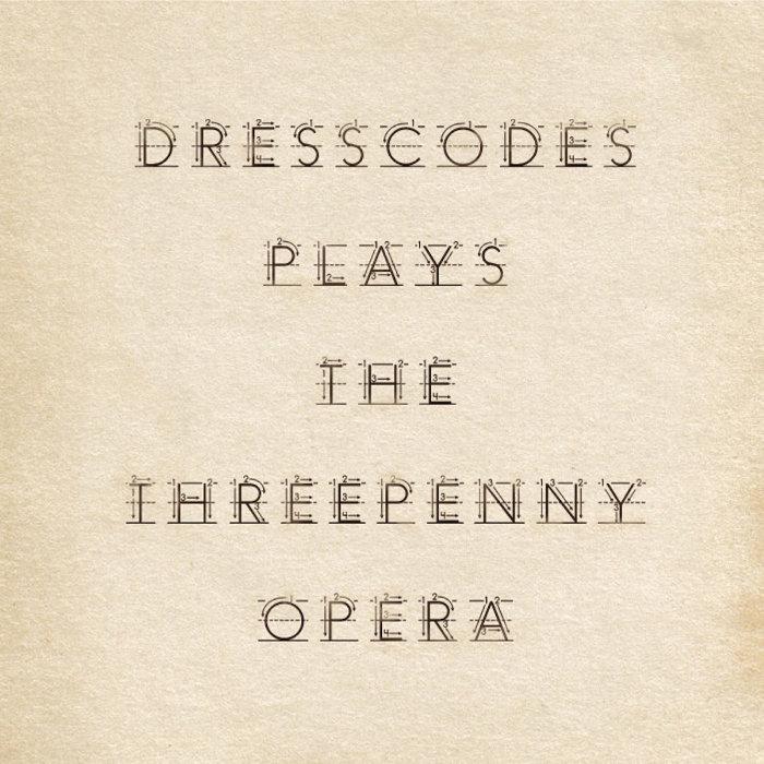 ドレスコーズ『ドレスコーズの《三文オペラ》』ジャケット
