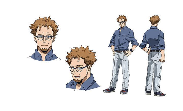 デヴィットキャラクタービジュアル ©2018「僕のヒーローアカデミアTHE MOVIE」製作委員会 ©堀越耕平/集英社