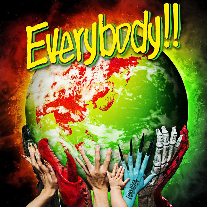 WANIMA『Everybody!!』ジャケット