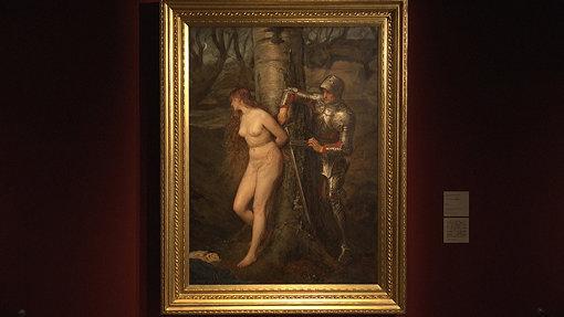 ジョン・エヴァレット・ミレイ『ナイト・エラント(遍歴の騎士)』