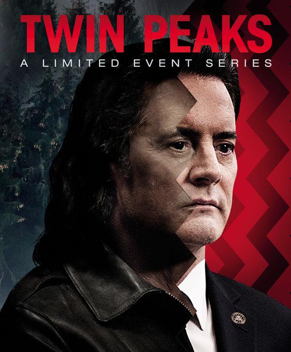 『ツイン・ピークス:リミテッド・イベント・シリーズ』Blu-rayジャケット TWIN PEAKS: ©TWIN PEAKS PRODUCTIONS, INC. © 2018 Showtime Networks Inc.SHOWTIME and related marks are registered trademarks of Showtime Networks Inc.,A CBS Company. All Rights Reserved.