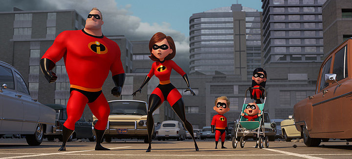 『インクレディブル・ファミリー』 ©2018 Disney/Pixar. All Rights Reserved.