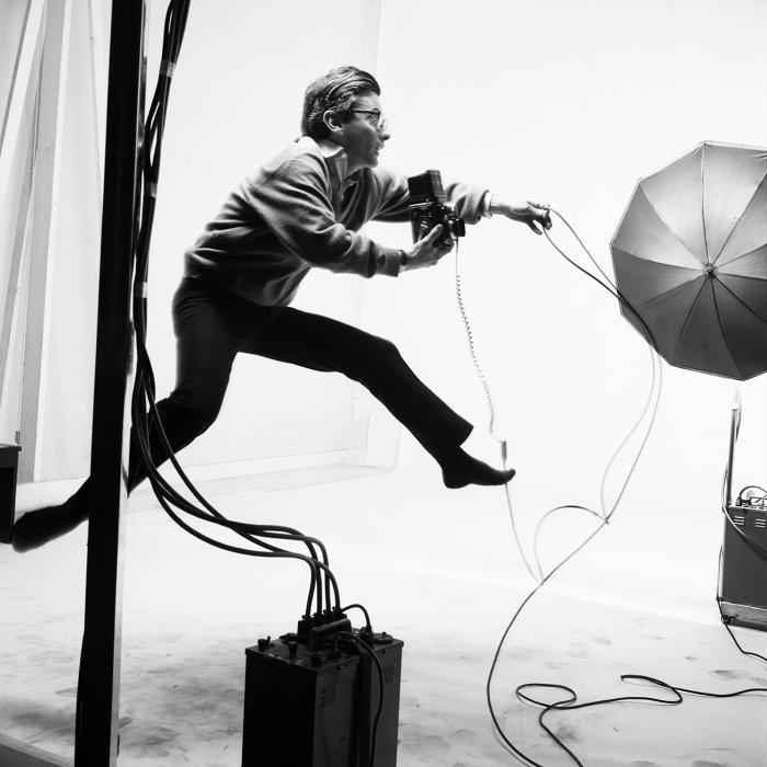 ジャック=アンリ・ラルティーグ『リチャード・アヴェドン ニューヨーク 1966年』 Photographie Jacques Henri Lartigue ©Ministère de la Culture - France/AAJHL