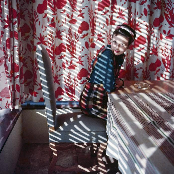 ジャック=アンリ・ラルティーグ『フロレット ヴァンス 1954年5月』 Photographie Jacques Henri Lartigue ©Ministère de la Culture-France/AAJHL