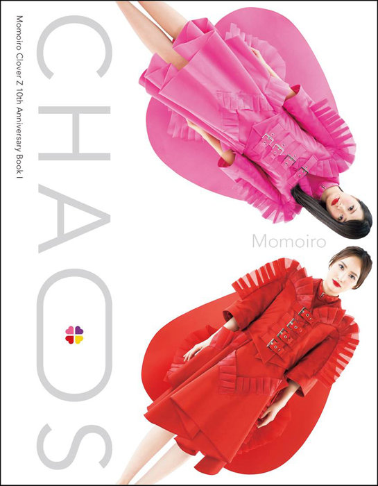 『Momoiro Clover Z 10th Anniversary BookI CHAOS』表紙