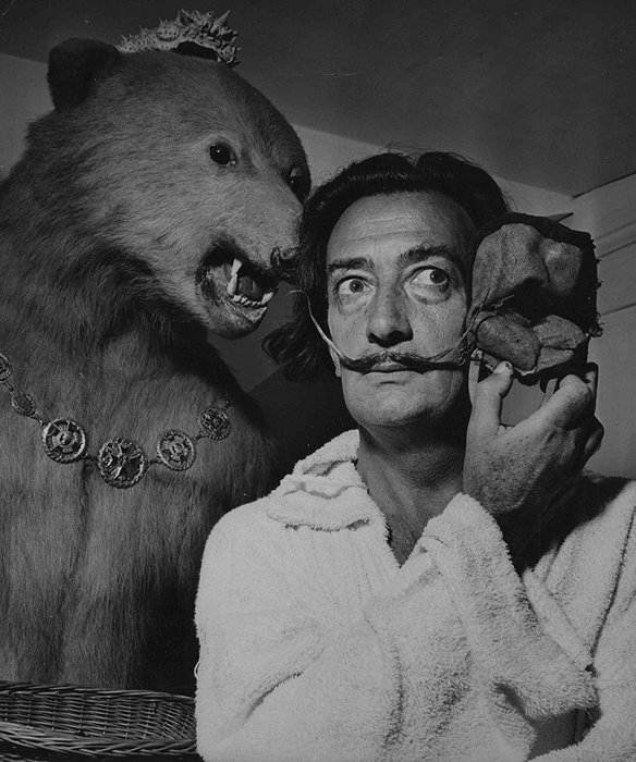 Salvador Dalí ©Photo by Jean Dieuzaide / M84