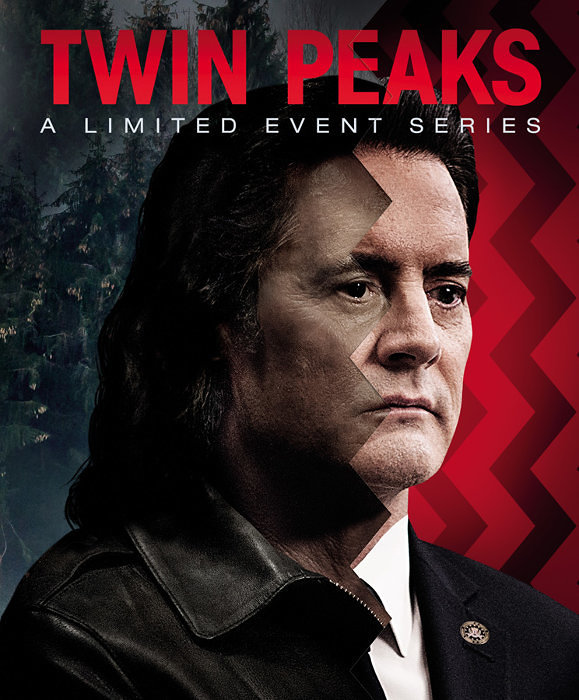 『ツイン・ピークス:リミテッド・イベント・シリーズ』Blu-rayジャケット TWIN PEAKS: ©TWIN PEAKS PRODUCTIONS, INC. © 2018 Showtime Networks Inc.SHOWTIME and related marks are registered trademarks of Showtime Networks Inc.,A CBS Company. All Rights Reserved.