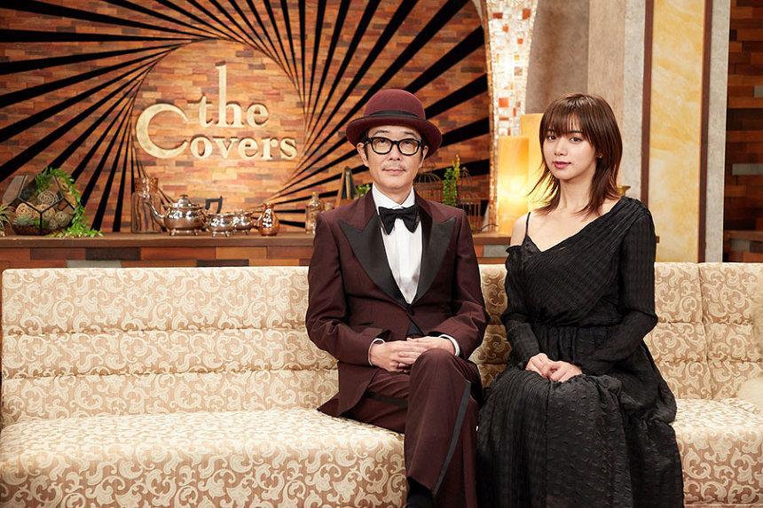 『The Covers 筒美京平ナイト!』左からフランキー、池田エライザ