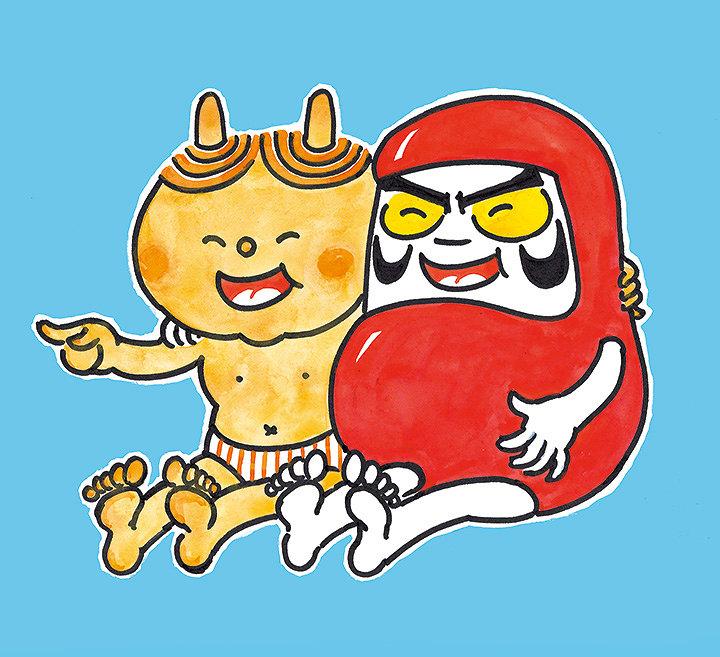 『だるまちゃんとかみなりちゃん』福音館書店刊 Illustrations ©Kako Research Institute Ltd.