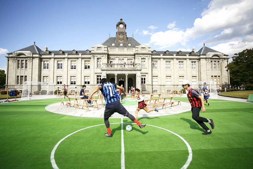 文翔館(2014年出展、トラフ建築設計事務所『WORLD CUP』)