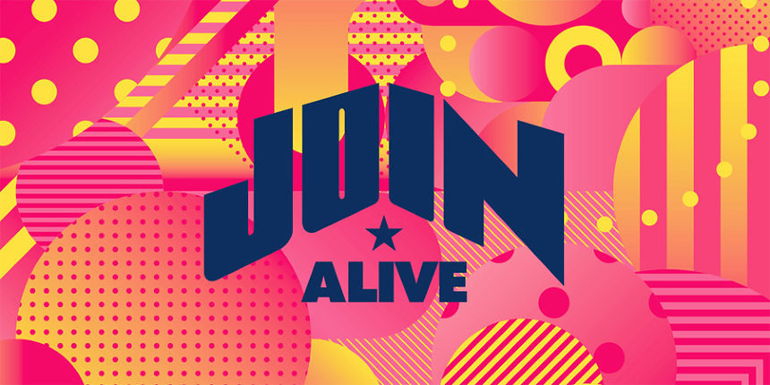 『JOIN ALIVE 2018』ロゴ