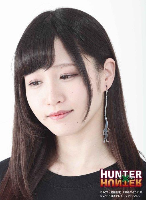 HUNTER×HUNTER ゴンイヤリング 使用例(片耳)