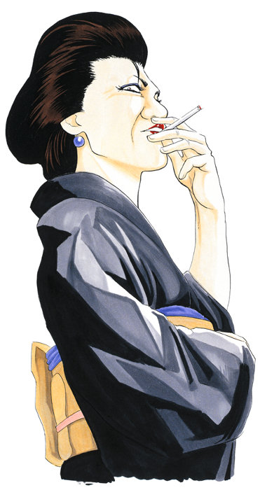 お登勢原作ビジュアル ©空知英秋/集英社