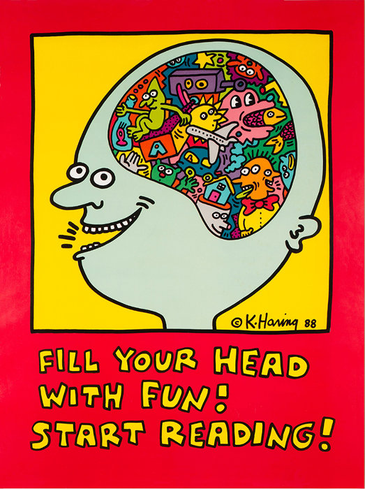 『FILL YOUR HEAD WITH FUN! START READING! 』1988