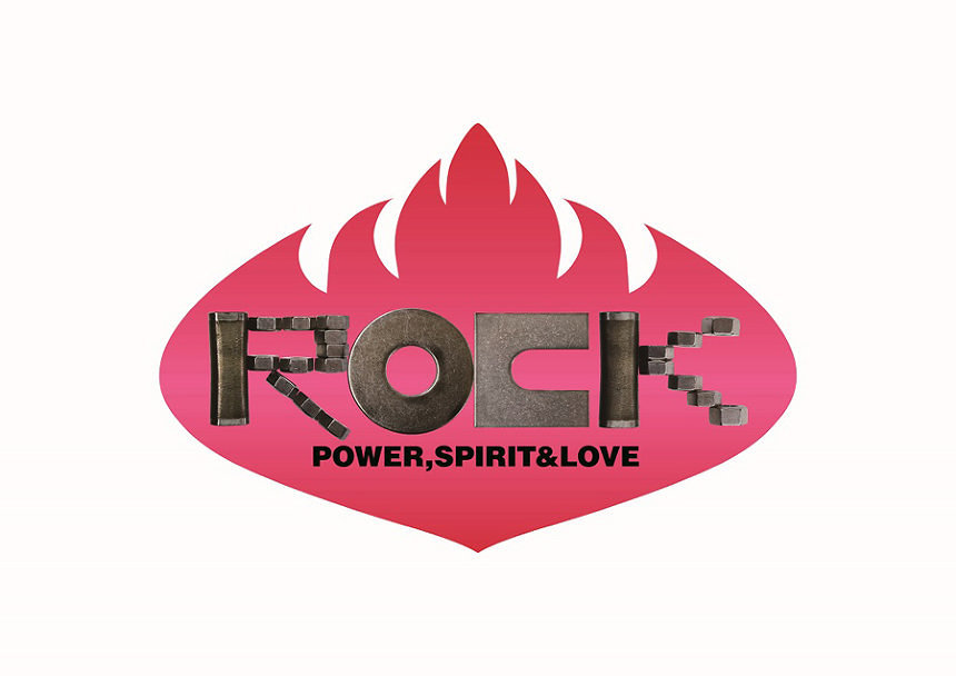 『ROCK:POWER, SPIRIT & LOVE』ロゴ