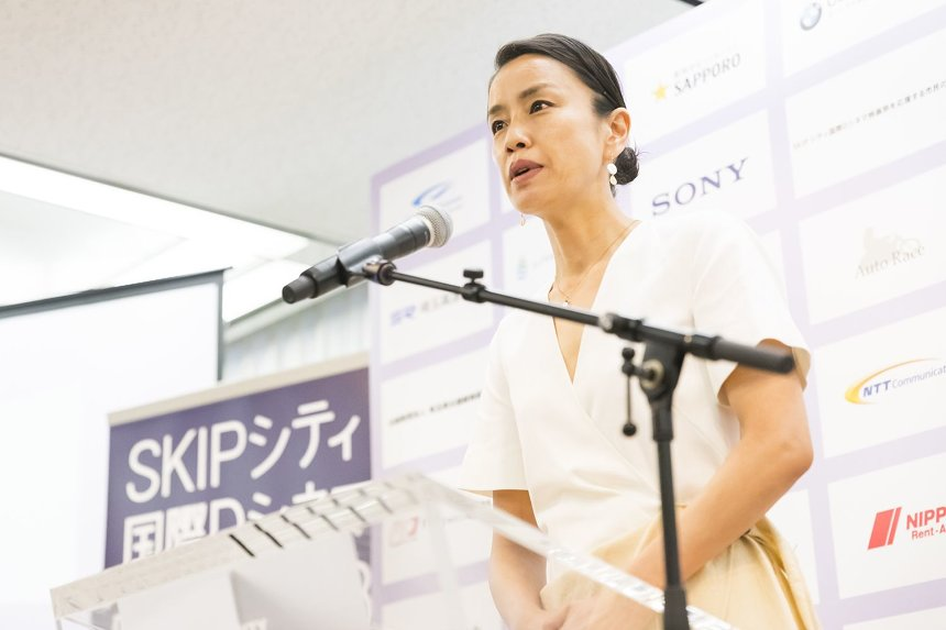 『SKIPシティ国際Dシネマ映画祭2018』記者会見より
