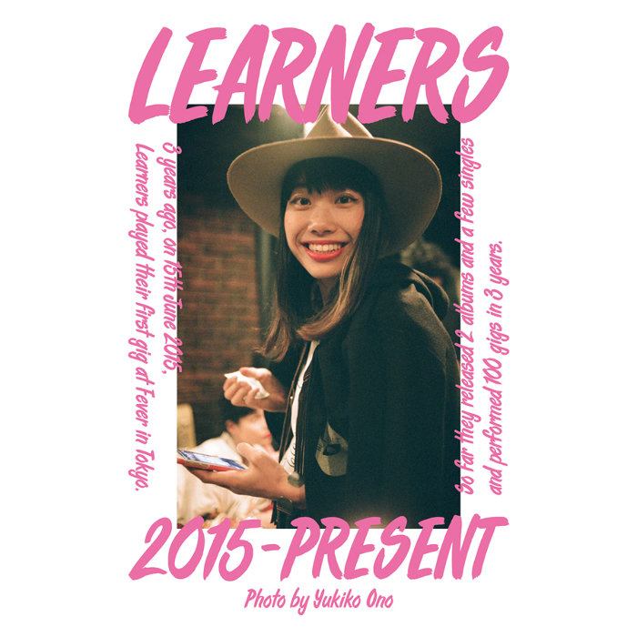 "『YUKIKO ONO x LEARNERS""THREE 100""LEARNERS 3 YEARS 100 GIGS』ビジュアル"