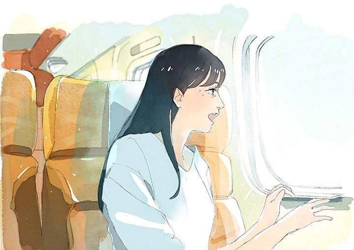 『夏列車 いっしょに見る夏 帰る夏』キャンペーンロゴ