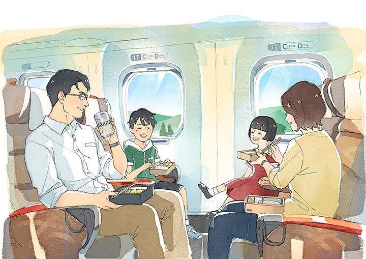 西日本旅客鉄道株式会社CM「夏列車 いっしょに見る夏 帰る夏」より