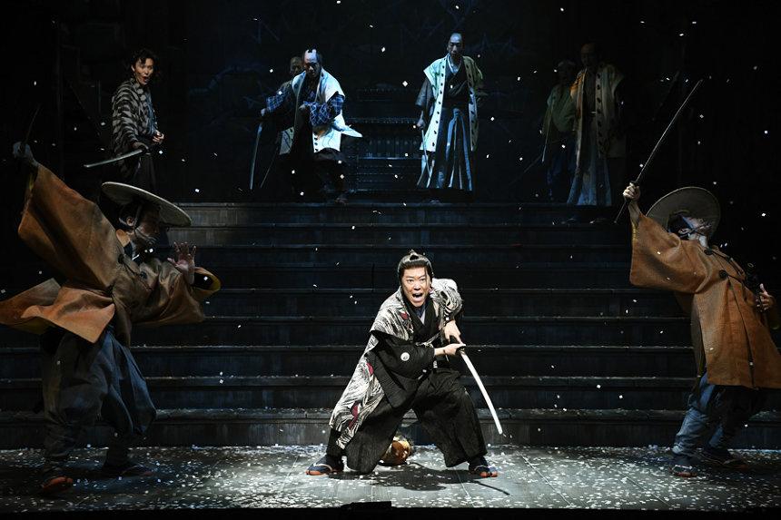 『ニンゲン御破算』舞台写真 撮影:細野晋司