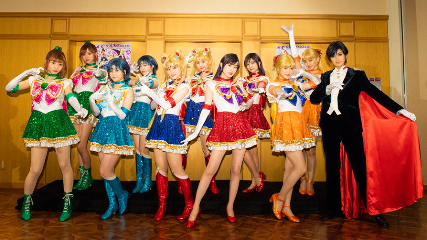 乃木坂46版ミュージカル『美少女戦士セーラームーン』舞台写真&コメント