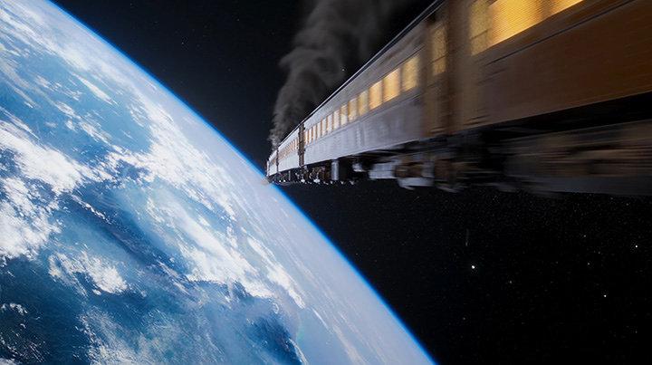 『銀河鉄道 999 Galaxy Live Drama』PVより ©松本零士・東映アニメーション/スカパー!