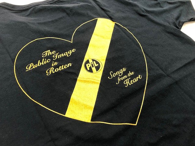 PUBLIC IMAGE LTD.結成40周年記念Tシャツ見本