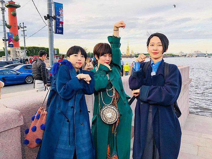 『猫にまた旅 ~椎名林檎・MIKIKO・西加奈子 ロシアを行く~』より