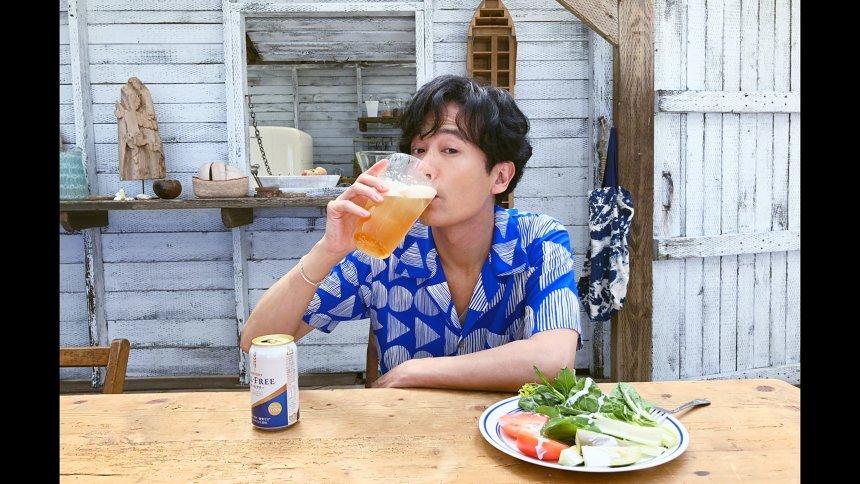 サントリービール「オールフリー」『氷いれちゃえ』篇より