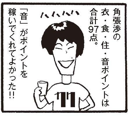 角張渉『衣・食・住・音 音楽仕事を続けて生きるには』(リトルモア)本秀康の漫画