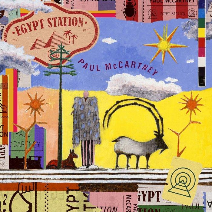 ポール・マッカートニー『Egypt Station』ジャケット