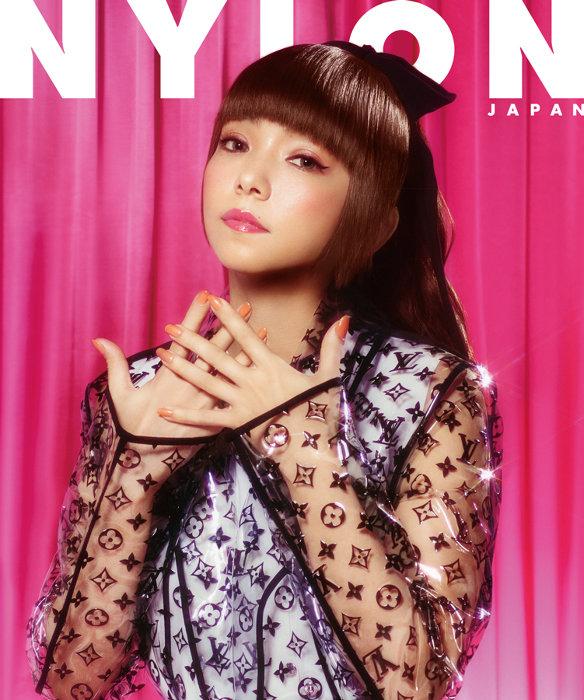 『NYLON JAPAN 9月号』表紙