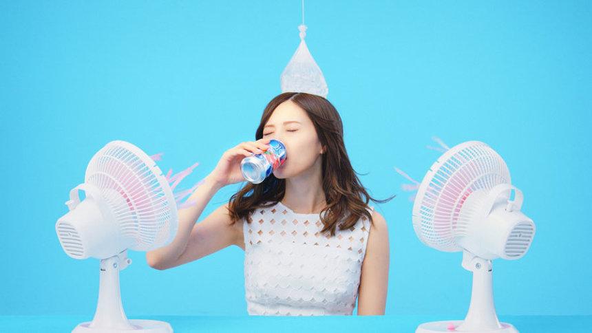 「キリン 氷結」6秒ムービー「扇風機」篇