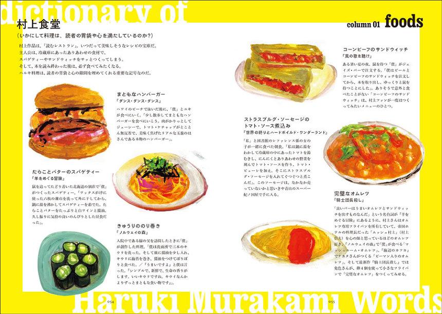 ナカムラクニオ、道前宏子『村上春樹語辞典:村上春樹にまつわる言葉をイラストと豆知識でやれやれと読み解く』より
