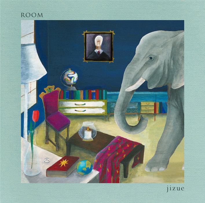 jizue『ROOM』初回限定盤ジャケット