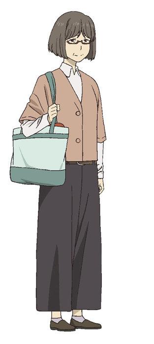 津村容莉枝ビジュアル ©緑川ゆき・白泉社/夏目友人帳プロジェクト