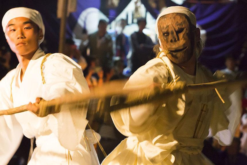 『ケベス祭』開催風景 撮影:忽那浩一郎