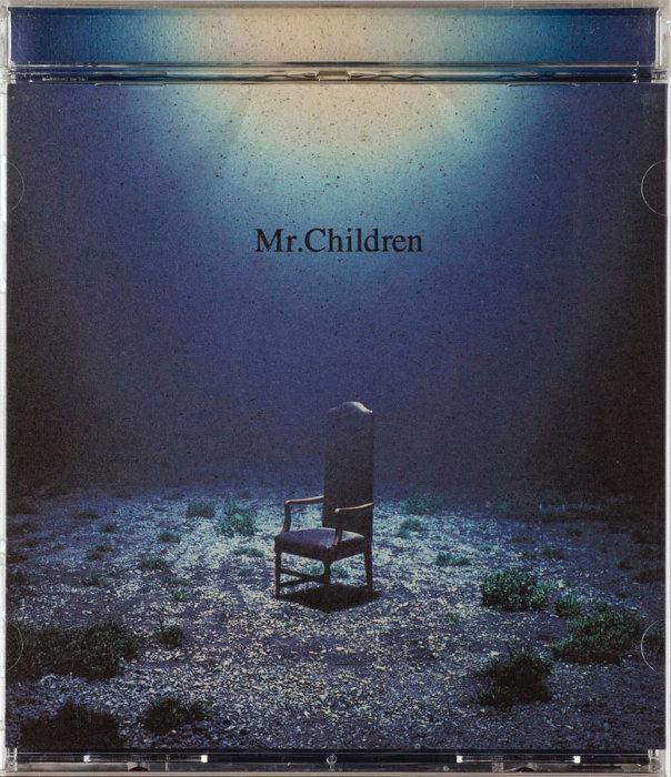 Mr.Children『深海』(トイズファクトリー/1996年)AD:信藤三雄 D:大箭亮二 Ph:野村浩司