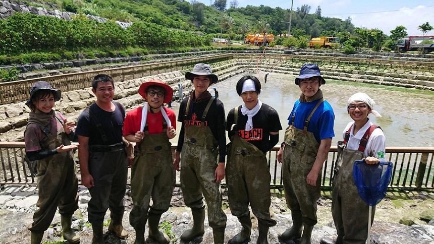『緊急SOS!池の水ぜんぶ抜く大作戦~沖縄で出た出た!超巨大怪物ウナギ&熱帯魚~』より