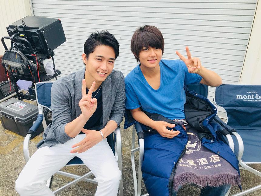 左から佐藤寛太(劇団EXILE)、佐野勇斗(M!LK) ©2018映画「青夏」製作委員会