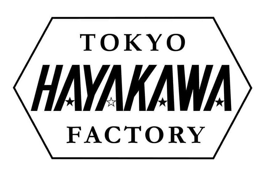 「HAYAKAWA FACTORY」ブランドロゴ